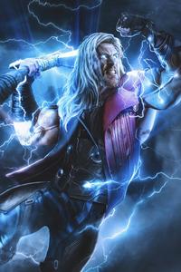 1125x2436 Thor Thunder Strike 4k