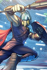 1440x2560 Thor Vs Hulk 4k 2020