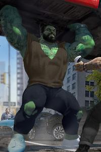 720x1280 Thor Vs Hulk 4k
