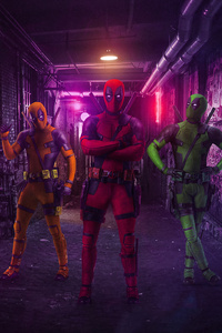 Three Deadpools