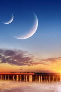 Three Moons Sky