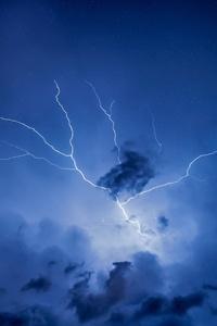 1440x2960 Thunder Storm 4k