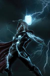 640x960 Thunder Thor 4k