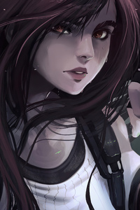Tifa Lockart Artistic Art 4k