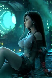 Tifa Lockhart Final Fantasy Artwork