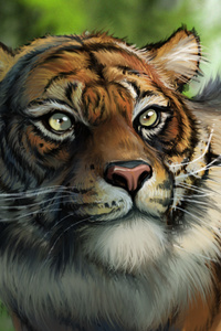 Tiger Digital Artwork