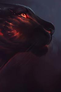 640x1136 Tiger Red