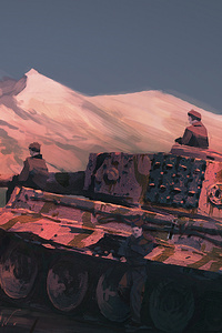 Tiger Tank Artistic