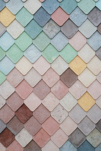 Tile Pattern Pastel 5k