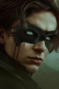 1440x2960 Timothee Chalamet As Robin Dune X The Batman