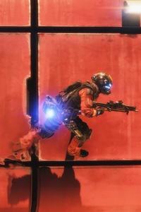 1080x2160 Titanfall 2 Wall Runner