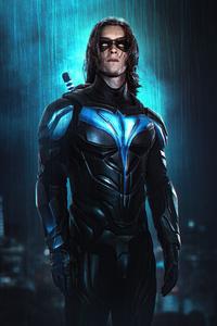 640x1136 Titans Nightwing 4k