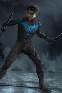 480x854 Titans Nightwing 5k