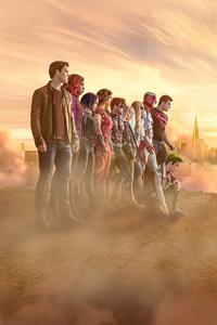 320x480 Titans Season 3 Cast Poster