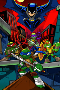 Tmnt Cartoon Art