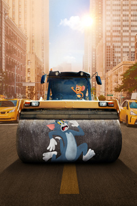 1242x2688 Tom And Jerry Animated Movie 10k