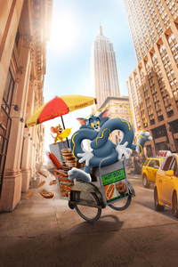 1242x2688 Tom And Jerry Cartoon Movie 10k