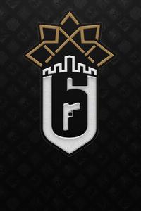 Tom Clancys Rainbow Six Siege Minimal Logo 4k