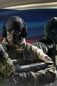 640x960 Tom Clancys Rainbow Six Siege Spetsnaz