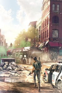 Tom Clancys The Division 2 Concept Art Downtown 8k