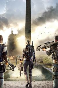 2160x3840 Tom Clanycs The Division 2 4k