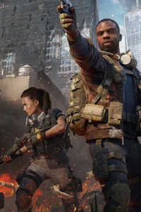 480x800 Tom Clanycs The Division 2 Warlords Of New York 8k