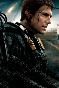 Tom Cruise In Edge Of Tomorrow Movie