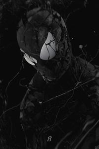 Tom Holland Spider Man As Venom 4k