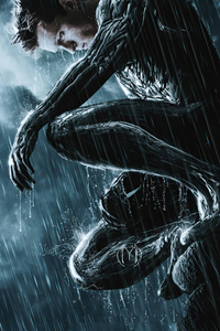 480x800 Tom Holland Spider Man Black Suit