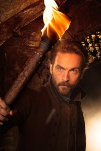Tom Mison As Ichabod Crane Sleepy Hollow Season 4