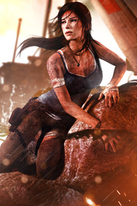 720x1280 Tomb Raider 2013 Lara Croft 4k