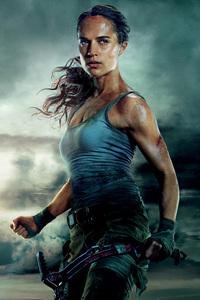 Tomb Raider 2018 Alicia Vikander 4k