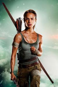 1280x2120 Tomb Raider 2018 Alicia Vikander HD