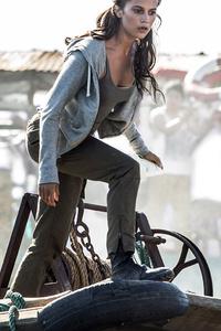 Tomb Raider 2018 Alicia Vikander Movie