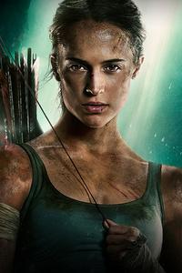 Tomb Raider 2018 Movie Alicia Vikander Poster