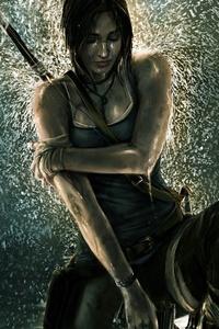 1242x2688 Tomb Raider 2020 8k