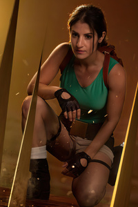 750x1334 Tomb Raider 4 Lara Croft Cosplay 5k