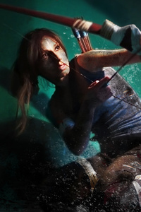 320x568 Tomb Raider Cosplay 4k
