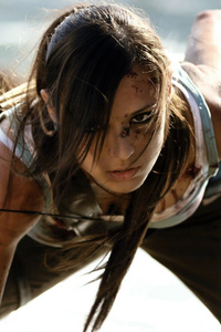 1280x2120 Tomb Raider Lara Croft Cosplay