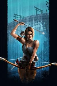 Tomb Raider Lara Croft Video Game Art