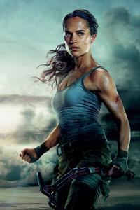 1280x2120 Tomb Raider Movie 4k