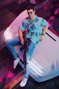 800x1280 Tommy Vercetti Gta Vice City