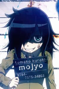 480x854 Tomoko Kuroki Anime Watamote