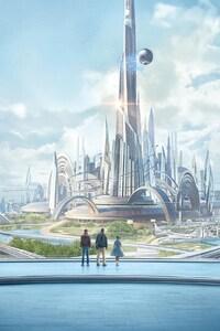 1242x2688 Tomorrowland Movie