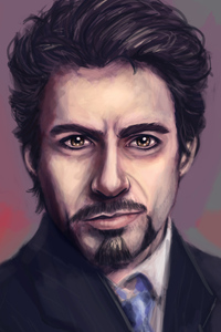 Tony Stark 4k