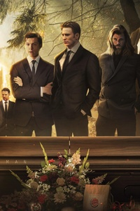 1440x2560 Tony Stark Funeral