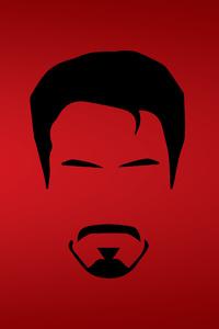 Tony Stark Minimalist 8k