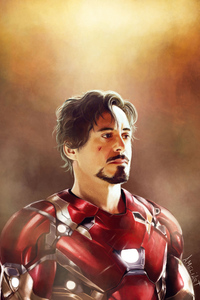 360x640 Tony Stark Paint Art