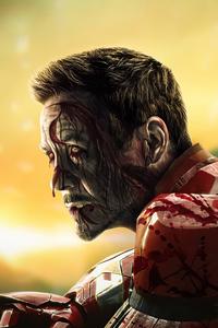 640x960 Tony Stark X Zombie What If