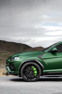 TopCar Lamborghini Urus 2018 Side View